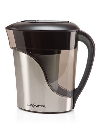 Zerowater 8 Cup Stainless Steel Pitcher-STAINLESS STEEL-One Size