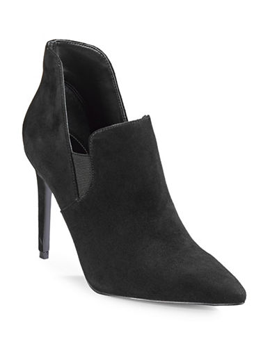 Kendall + Kylie Amber Suede Dress Boots-BLACK-10