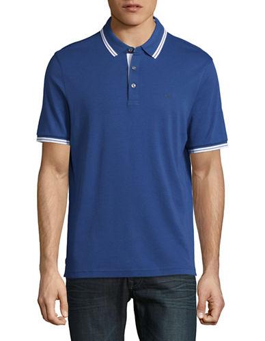 Michael Kors Logo Polo Shirt-NAVY-Medium