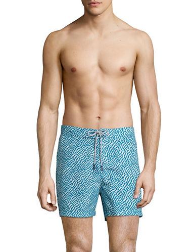 Michael Kors Shell Print Board Shorts-BLUE-X-Large 89007275_BLUE_X-Large
