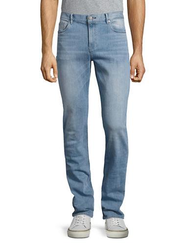 Michael Kors Slim Fit Indigo Jeans-BLUE-36X34