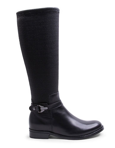 Blondo Zana Waterproof Leather Boots-BLACK-9