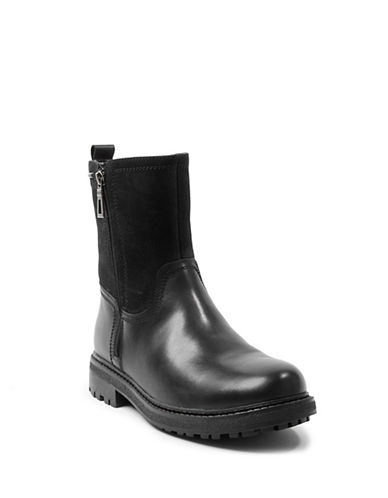 Blondo Jagger Waterproof Leather Boots-BLACK-10.5
