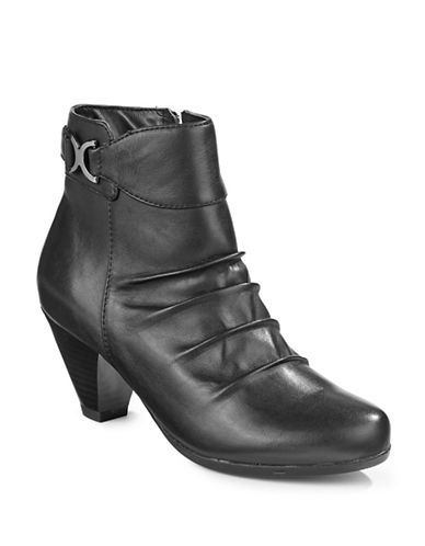 Blondo Evelyn Waterproof Leather Booties-BLACK-9