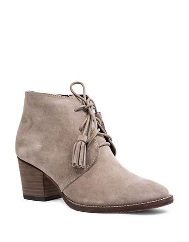 Blondo Nivia Suede Lace-Up Booties-MUSHROOM-8