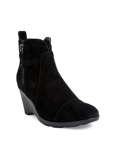 Blondo Waterproof Wedge Booties-BLACK-7.5
