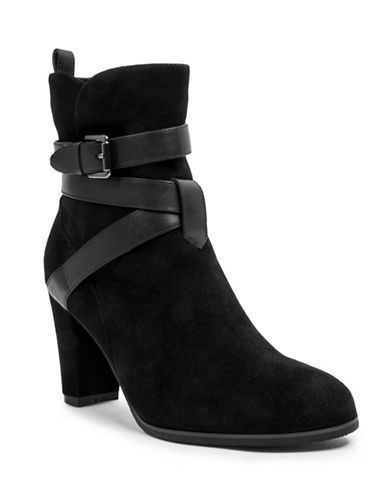 Blondo Cathy Suede Booties-BLACK-10