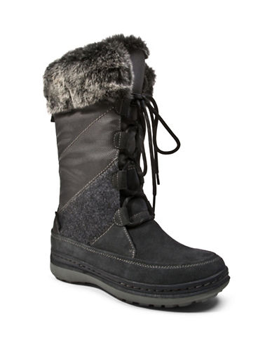 Blondo Mid-Calf Faux-Fur Trimmed Winter Boots-GREY-11