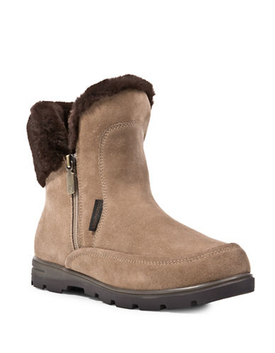 Blondo Suede Faux-Fur Trimmed Winter Boots-MUSHROOM-7