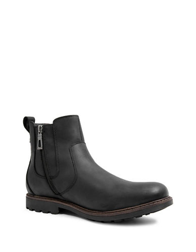 Blondo Shadow Leather Boots-BLACK-8.5