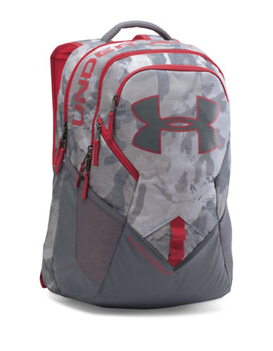 Under Armour Storm Big Logo IV Backpack-GREY-One Size 88510092_GREY_One Size