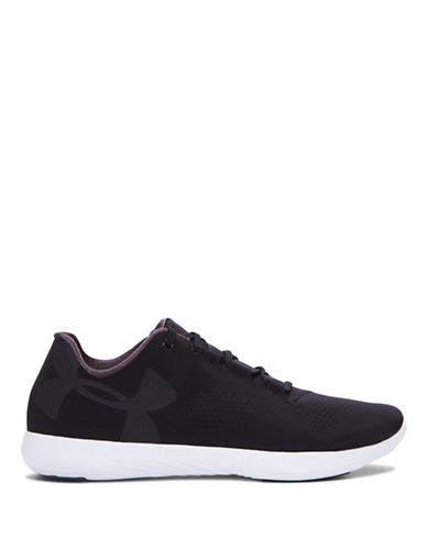 Under Armour Womens UA Street Precision Low Sneakers-BLACK-7