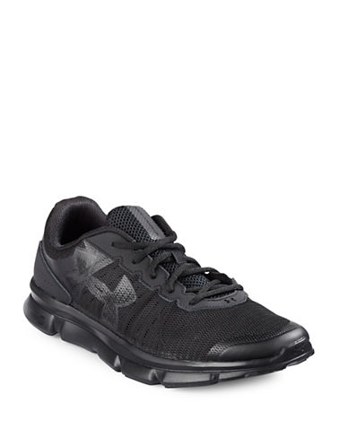 Under Armour Micro G Speed Swift Sneakers-BLACK-13 88496655_BLACK_13