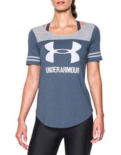Under Armour Graphic Baseball Tee-PURPLE-Small 88511694_PURPLE_Small