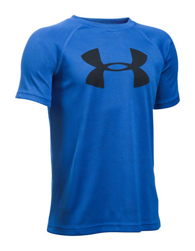 Under Armour UA Tech Big Logo T-Shirt-BLUE-Large 88768232_BLUE_Large