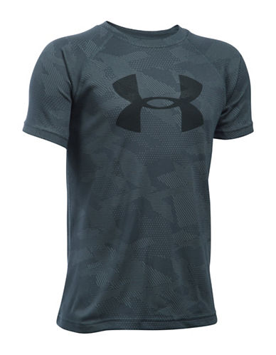 Under Armour UA Tech Big Logo T-Shirt-GREY-Medium 88768227_GREY_Medium