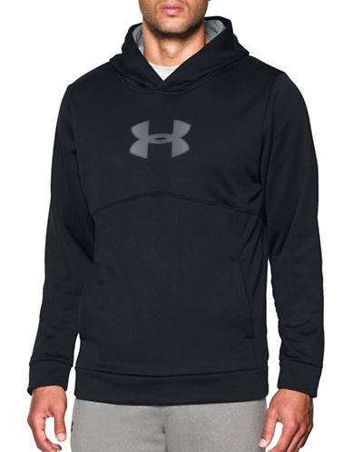 Under Armour UA Storm Armour Fleece Logo Sweatshirt-BLACK-Large 88790515_BLACK_Large