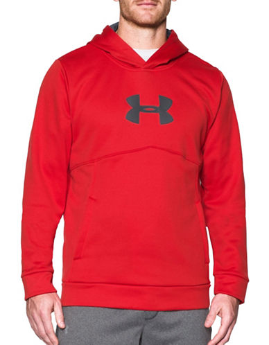 Under Armour UA Storm Armour Fleece Logo Sweatshirt-RED-X-Large 88790521_RED_X-Large