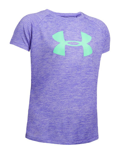 Under Armour Novelty Big Logo T-Shirt-PURPLE-X-Small 88765063_PURPLE_X-Small
