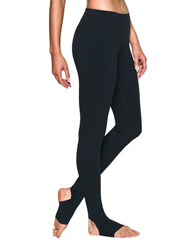 Under Armour Mirror BreatheLux Stirrup Leggings-BLACK-Medium 88843544_BLACK_Medium