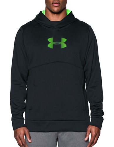 Under Armour ColdGear Storm1 Logo Hoodie-BLACK-Large 88767570_BLACK_Large