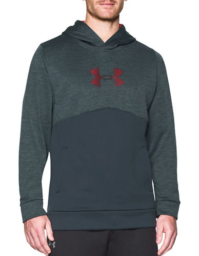 Under Armour UA Storm Armour Fleece Logo Sweatshirt-ST. GREY-Large 88790530_ST. GREY_Large