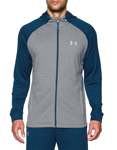 Under Armour Tech Zip-Up Hoodie-GREY-Large 89099209_GREY_Large