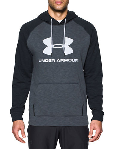 Under Armour Sportstyle Fleece Sweatshirt-GREY-Small 89055136_GREY_Small