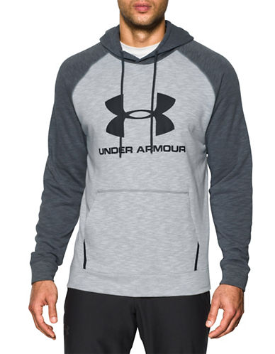 Under Armour Sportstyle Fleece Sweatshirt-LIGHT GREY-Medium 89055142_LIGHT GREY_Medium