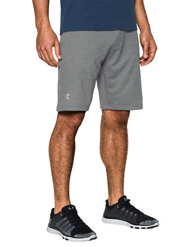 Under Armour Tech Terry Shorts-GREY-Large 89055123_GREY_Large