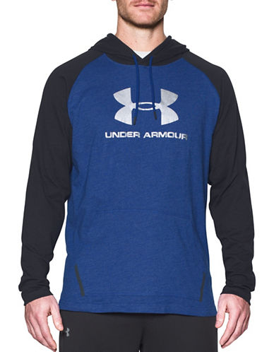 Under Armour Sportstyle Athletics Hoodie-ROYAL-X-Large