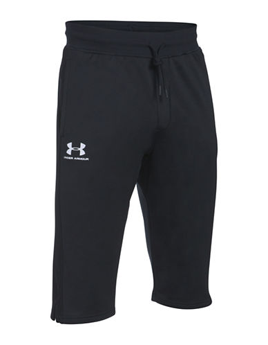 Under Armour Sportstyle Drawstring Pants-BLACK-Small 89322548_BLACK_Small