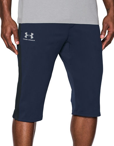 Under Armour Sportstyle Half Pants-BLUE-Large