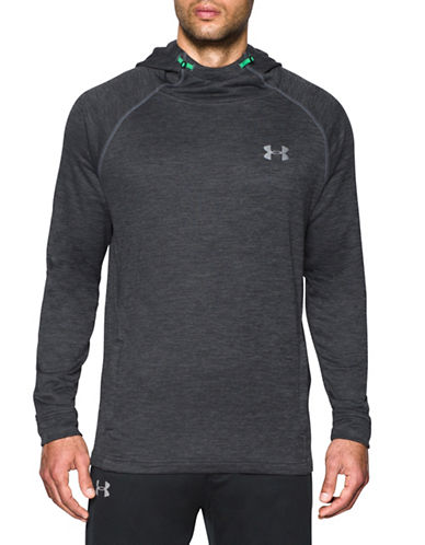 Under Armour Tech Heathered Hoodie-GREY-Large 89099204_GREY_Large