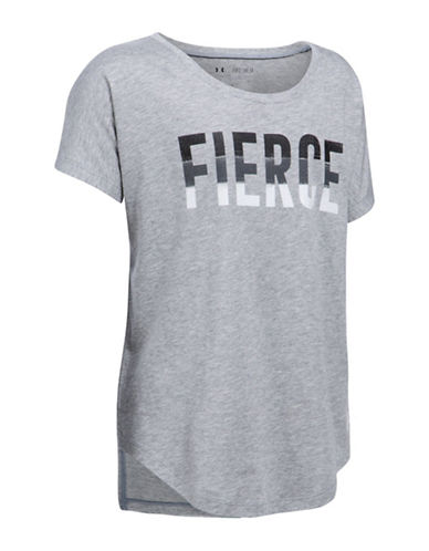 Under Armour UA Fierce T-Shirt-GREY-Small 88981441_GREY_Small