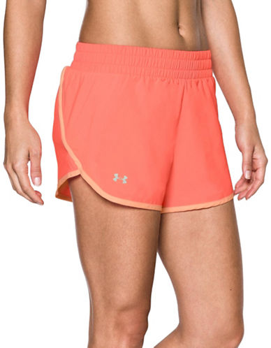 Under Armour Launch Tulip Shorts-LONDON ORANGE-X-Large
