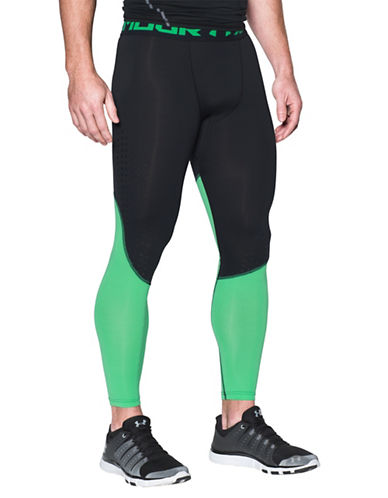 Under Armour Dual-Tone CoolSwitch Leggings-BLACK-Medium 89098986_BLACK_Medium