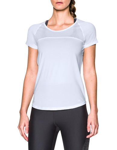 Under Armour Fly-By Open-Back Tee-WHITE-Large 88967009_WHITE_Large
