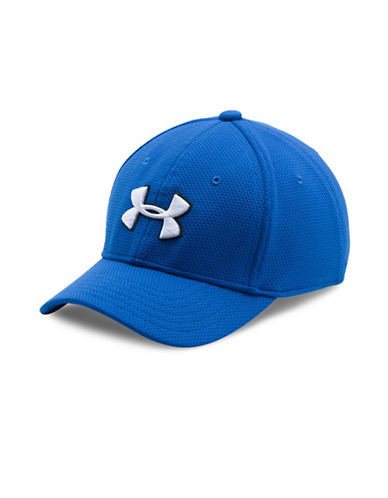 Under Armour Blitzing Stretch Fit Cap-BLUE-XS/S 89064530_BLUE_XS/S