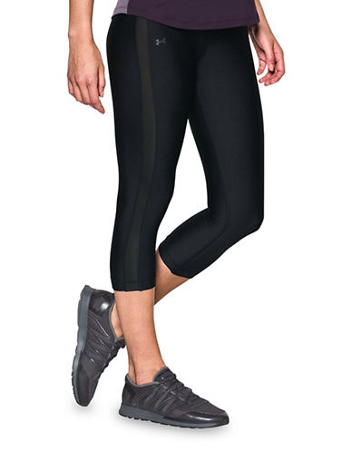 Under Armour Ultra-Tight CoolSwitch Capris-BLACK-Large 89261116_BLACK_Large