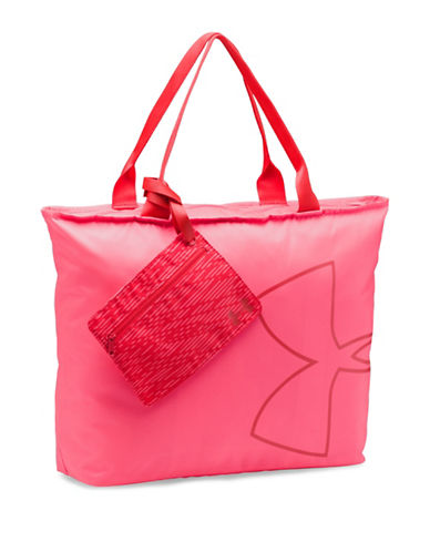 Under Armour Big Logo Tote Bag-PINK-One Size 89124174_PINK_One Size