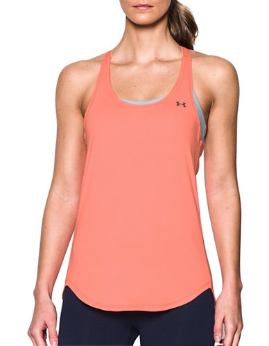Under Armour Coolswitch Tank Top-ORANGE-X-Large
