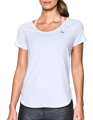 Under Armour UA CoolSwitch Tee-WHITE-X-Large 89207395_WHITE_X-Large