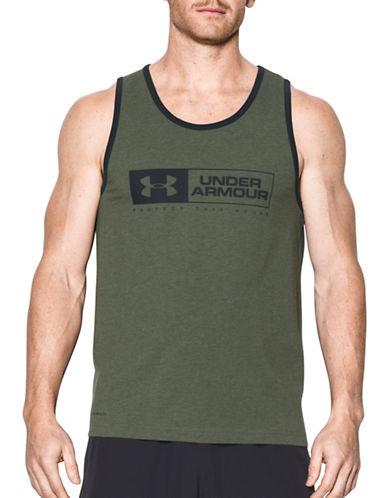 Under Armour UA Left Lockup Tank-GREEN-Medium 89232848_GREEN_Medium