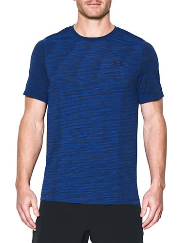 Under Armour Threadborne Seamless T-Shirt-BLUE-Large 89109225_BLUE_Large