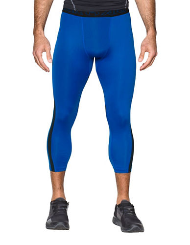 Under Armour HeatGear SuperVent Compression Leggings-BLUE-Small 89162983_BLUE_Small