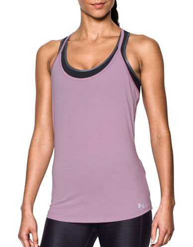 Under Armour Fly-By Racerback Tank-FRESH ORCHID-X-Small 89070378_FRESH ORCHID_X-Small