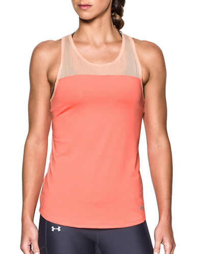 Under Armour Fly-By Fitted Tank Top-LONDON ORANGE-X-Large 89219360_LONDON ORANGE_X-Large
