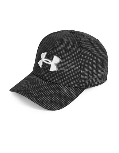 Under Armour UA Print Blitzing Cap-BLACK-Medium/Large 88964634_BLACK_Medium/Large