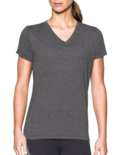 Under Armour Threadborne Siro Twist Tee-GREY-Medium 89088139_GREY_Medium